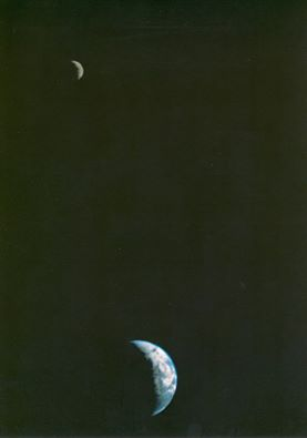 earth-and-moon